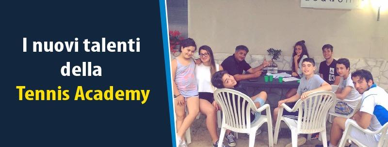 I nuovi talenti della Tennis Academy