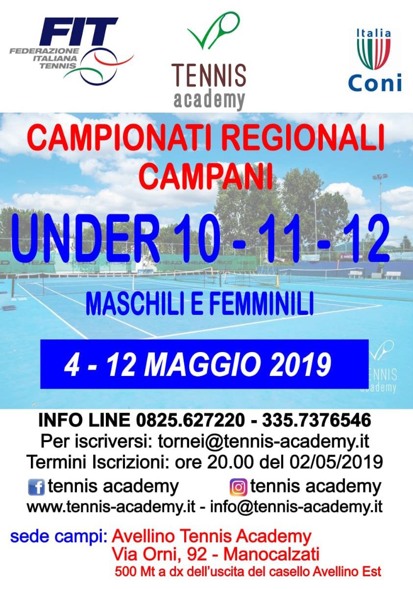 Campionati regionali-2019